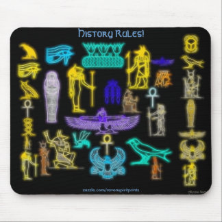 Egyptian Ancients Collection Mousepad