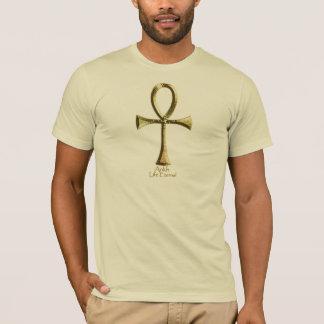 Egyptian ANKH-(Golden) T-Shirt
