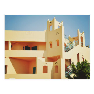 Egyptian architecture postcard