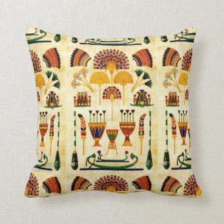 Egyptian Art Design #2 Throw Pillow