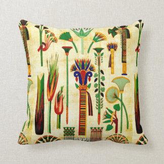 Egyptian Art Design #4 Throw Pillow