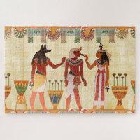 Egyptian Art Jigsaw Puzzle