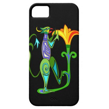 Egyptian Art With Lotus Flower iPhone 5G Case