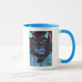 Egyptian Bast Black Cat Mug