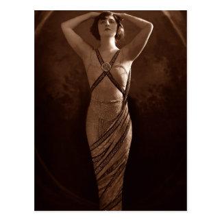 Egyptian Beauty Postcard
