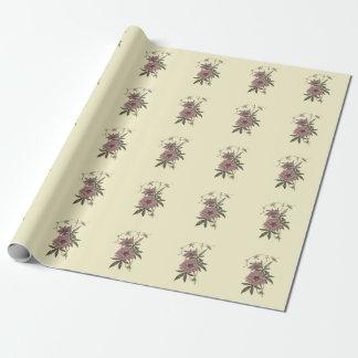 Egyptian Bindweed Botanical Illustration Wrapping Paper