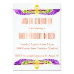 Egyptian Birthday Party Invitation