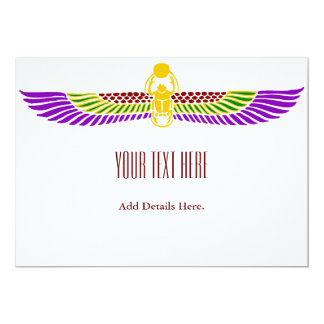 Egyptian Birthday Party Invitation - Simple