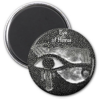 egyptian black eye refrigerator magnet