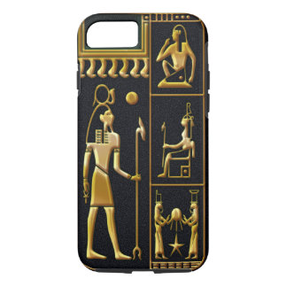 Egyptian Black & Gold Dynasty iPhone 8/7 Case