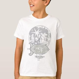 Egyptian Blimp and Moon T-Shirt