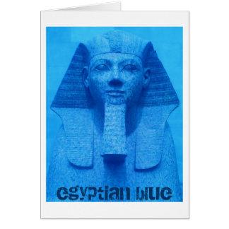 Egyptian Blue Card