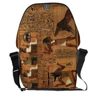Egyptian books of the dead. bolsa messenger