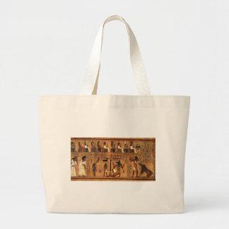 Egyptian books of the dead. bolsa tela grande