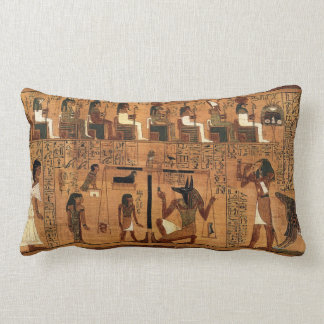 Egyptian books of the dead. lumbar pillow