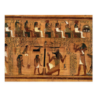 Egyptian books of the dead. postales