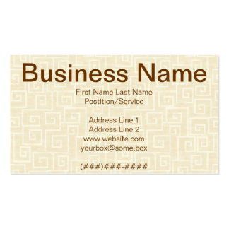 Egyptian Business Card