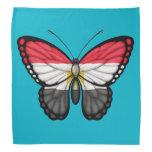 Egyptian Butterfly Flag Bandana