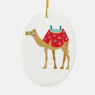 Egyptian Camel Ceramic Ornament