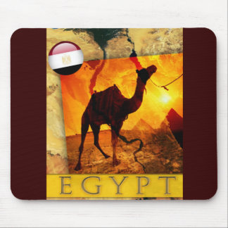 Egyptian camel mouse pad