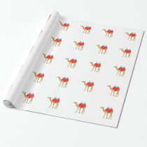 Egyptian Camel Wrapping Paper