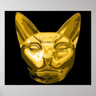 Egyptian Cat Bast Poster