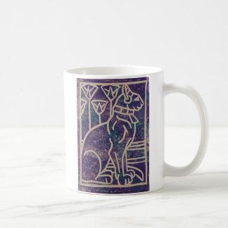 Egyptian Cat Design Coffee Mug