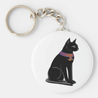 Egyptian Cat Goddess Bastet Keychain