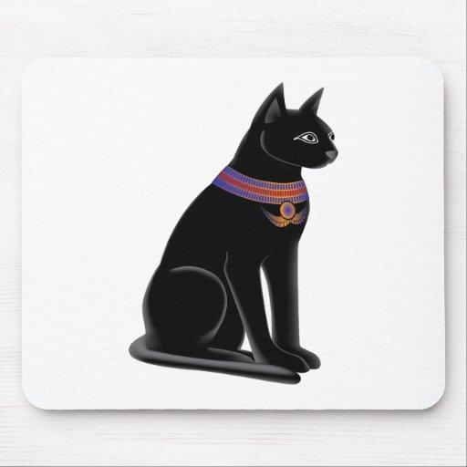 Egyptian Cat Goddess Bastet Mouse Pads