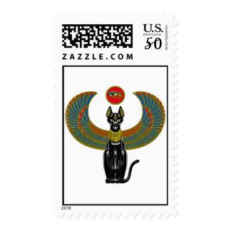 Egyptian Cat Goddess Postage