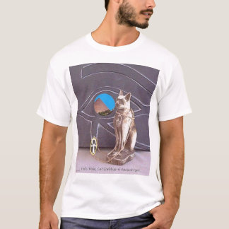 Egyptian Cat Goddess T-Shirt