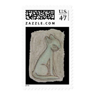 Egyptian cat postage