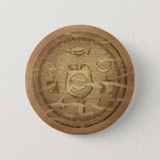 Egyptian Charm Against Annihilation Pinback Button