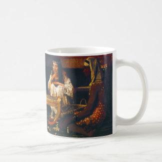 Egyptian Chess Players 1865 Coffee Mug