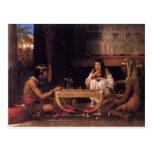 Egyptian Chess Postcard