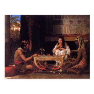 Egyptian Chess Postcards