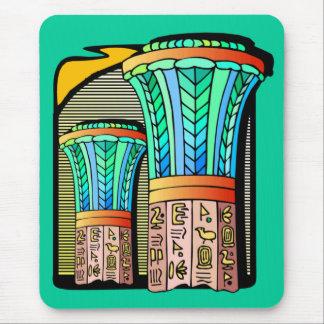 EGYPTIAN COLUMNS MOUSE PAD