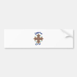 Egyptian Copt Car Bumper Sticker