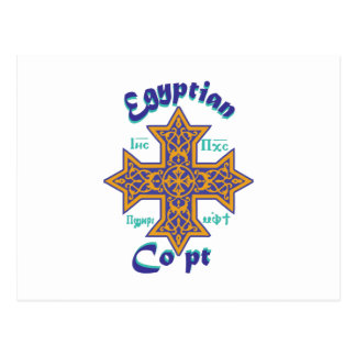 Egyptian Copt Postcard