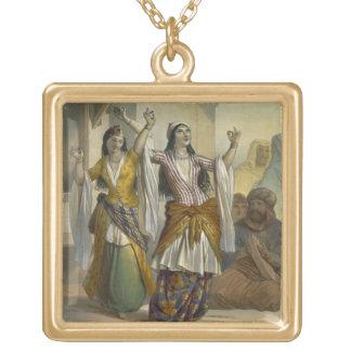 Egyptian Dancing Girls Performing the Ghawazi at R Custom Jewelry