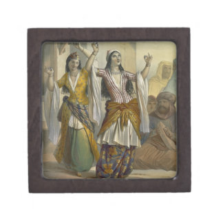 Egyptian Dancing Girls Performing the Ghawazi at R Premium Jewelry Boxes