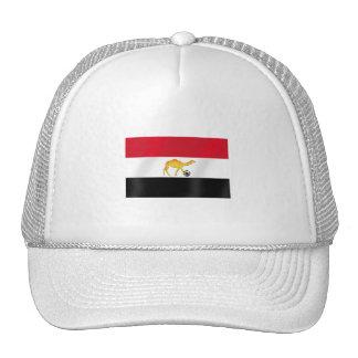 Egyptian desert camel soccer ball flag trucker hat