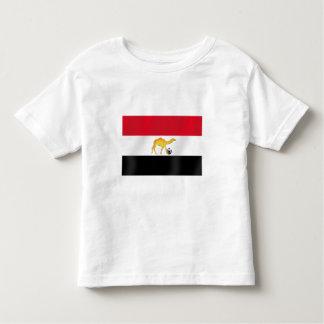 Egyptian desert camel soccer ball flag toddler t-shirt