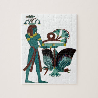 Egyptian Design #5 at Emporio Moffa Jigsaw Puzzle