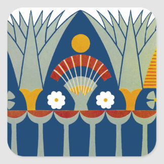 Egyptian Design #7 at Emporio Moffa Square Sticker
