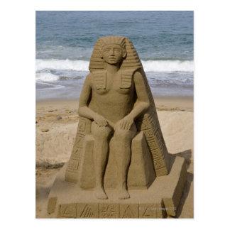 Egyptian design postcard