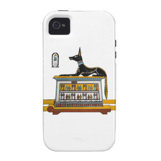 Egyptian Dog iPhone 4/4S Cases