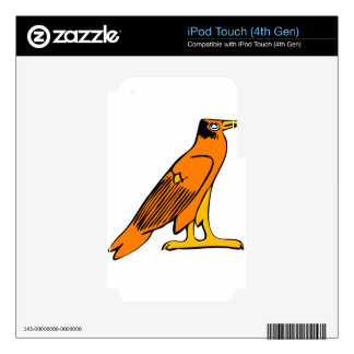 Egyptian Eagle Skins For iPod Touch 4G