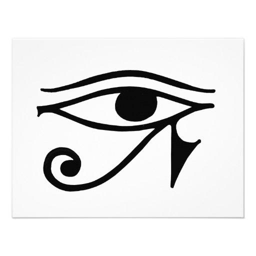 eye of horus pyramid tattoo