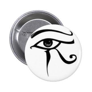 Egyptian eye Of Horus 2 Inch Round Button